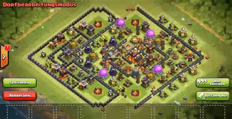 clash of clans th10 trophy layout clash of clans best epic new th10 trophy clan war base