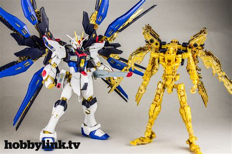 Bandai Freedom Gundam Rg gunpla tv episode 137 rg strike freedom mg nu gundam