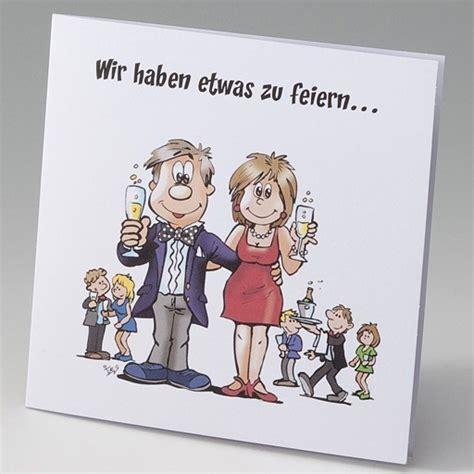 Einladungskarten Hochzeit Comic by Lustige Einladungskarte Zur Silberhochzeit Im Comic Stil