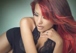 28 spicy black hair with red highlights for 2013 ideas creativefan