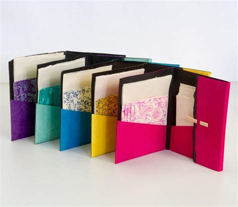 Handcrafted Stationery - notelet wallets anglesey paper company trade