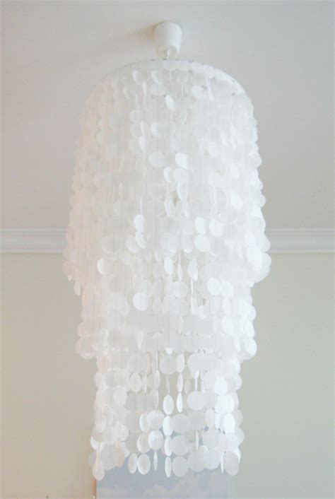Wax Paper Chandelier 18 Dazzling Diy Chandeliers To Brighten Your Home Brit Co