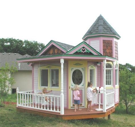 pink playhouse flickr photo