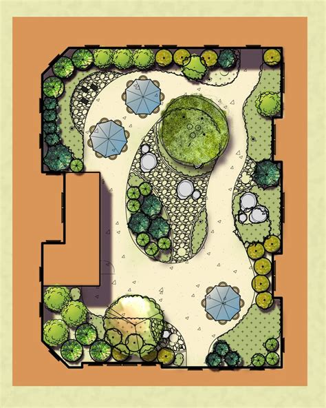 Japanese Garden Layout 613 Best Images About Landscape Plans On