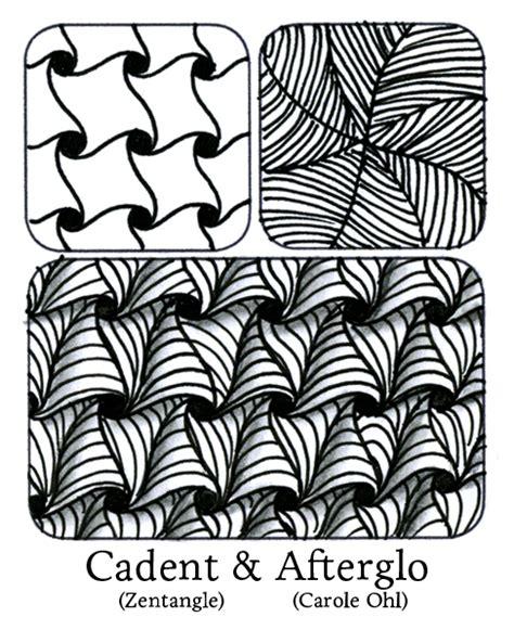 zentangle pattern w2 tanglebucket tangle remix vol i puffle