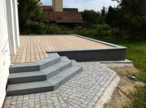 stein holz terrasse lauterbach kurowski gartenservice gbr terrassen aus