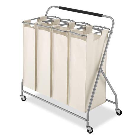 Whitmor Easy Lift Quad Laundry Sorter 66404981 The Home Laundry Sorter