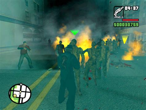 mod game zombie gta san andreas zombie alarm mod download