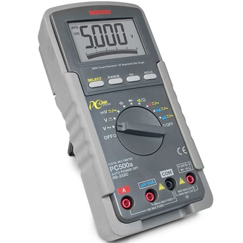Multitester Untuk Hp sanwa pc500a digital multimeter meter digital