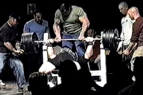 scot mendelson bench press this video of scot mendelson s 715 bench is why we started