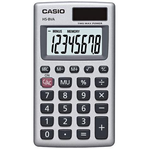 calculator c basic hs 8va handheld calculator casio