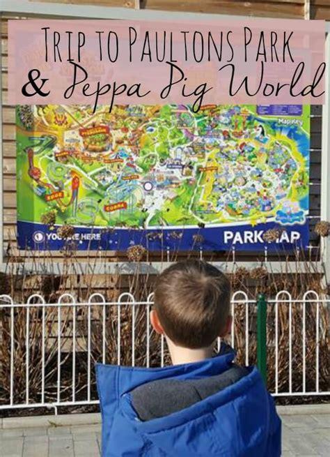 Mainan Peppa Pig Parking A Lot Blue paultons park and peppa pig world bubbablue and me
