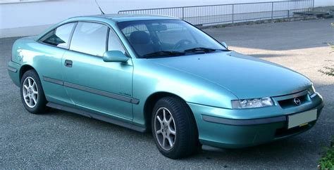 Opel Calibra by File Opel Calibra Front 20071007 Jpg