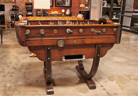 Foosball Table For Sale by 1950s Foosball Table For Sale At 1stdibs