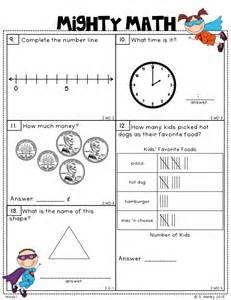 mighty math 2nd grade ccss weekly math assessments