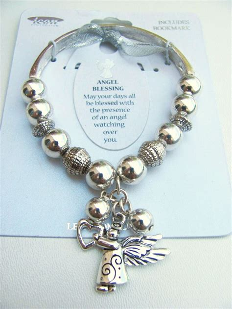 jewelry inspiration blessing charm inspirational message bracelet