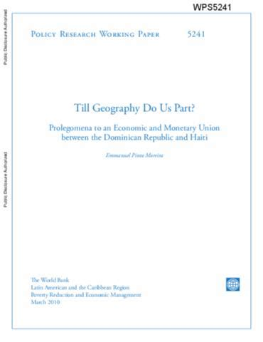 Pdf Til Do Us Blart by Till Geography Do Us Part Prolegomena To An Economic And