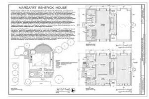 esherick house floor plan title sheet and floor plans margaret esherick house 204