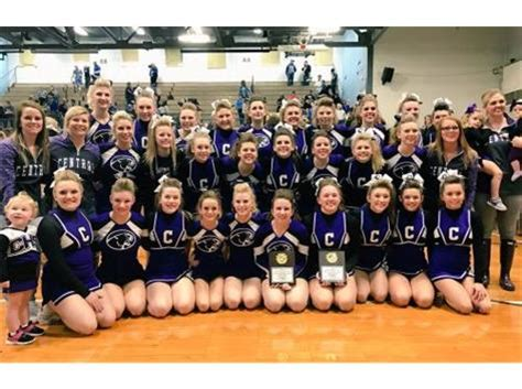 ihsa sectional results central cougars girls cheerleading activities