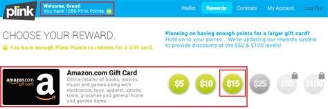 Quick Thoughts Amazon Gift Card - 4 plink accounts 4 ink cards free ur points and 2 55 profit