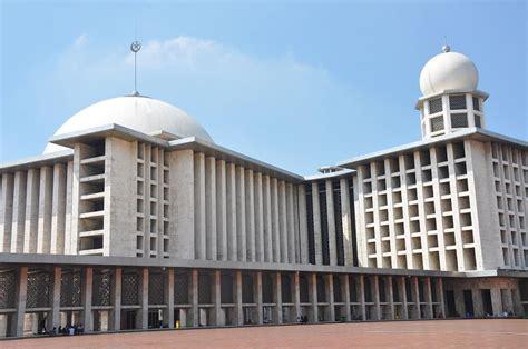 desain masjid istiqlal masjid istiqlal bangunan kemerdekaan dekdun s blog