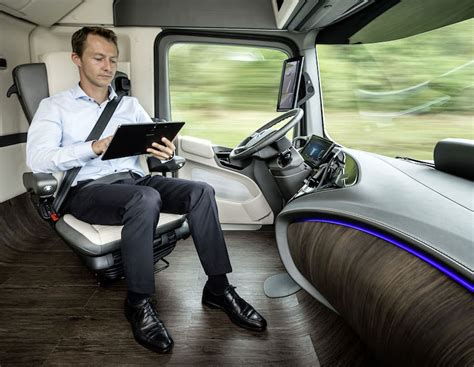 mercedes driver mercedes is a self driving semi to change the