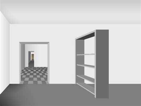 Building A Simple Bookshelf Technical Drawing For Beginners One Point Perspective