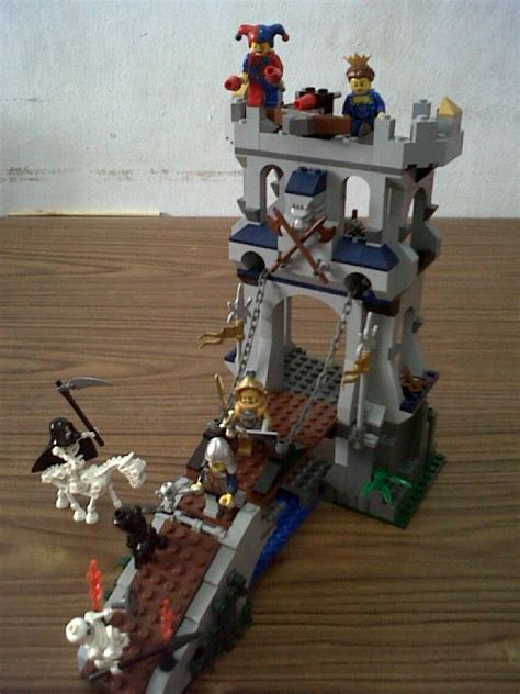Part Tiang Bendera Lego review 7079 drawbridge defence in lego set review forum