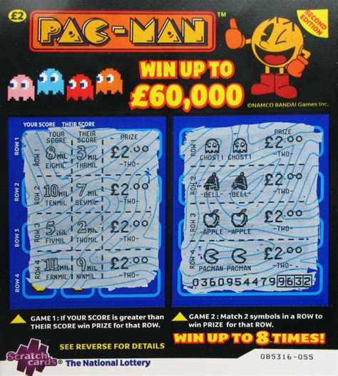 The National Lottery Instant Wins - testmeat photoblog scratchcard gamecard instant