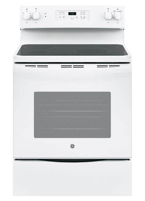 ge 30 in 5 3 cu ft free standing electric range in