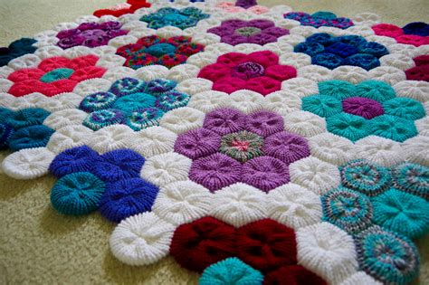 addi express professional knitting machine how to make the hexagon flower afghan on your addi express
