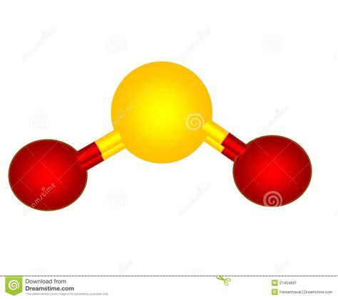 sulfur dioxide diagram image gallery so2 molecular