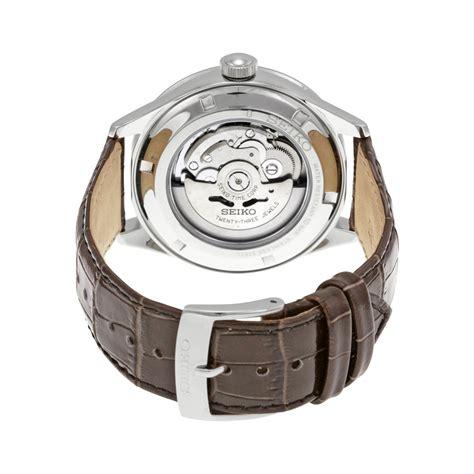 Seiko Velatura Rosegold Combi White Brown Leather seiko automatic srp705 srp705k srp705k1