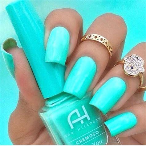 mint color nails best 25 mint green nails ideas on mint