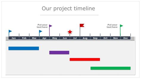 Get This Beautiful Editable Powerpoint Timeline Template Free Project Timeline Powerpoint Template