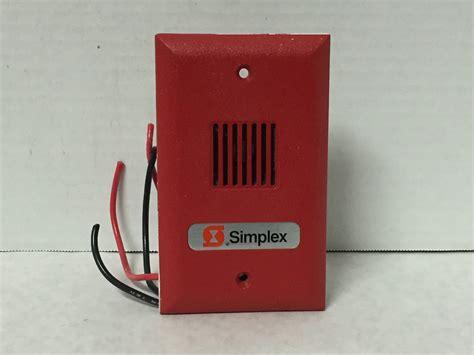 Alarm Simplex simplex gx90 4r firealarms tv jjinc24 u8ol0 s