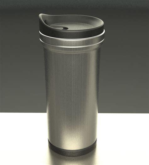 24 units of coffee mug insulated with handle grip at thermal coffee mug 3d max