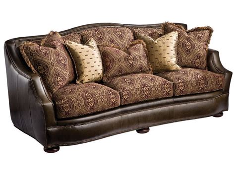fabric or leather sofa leather and fabric sofa combinations sofas home design