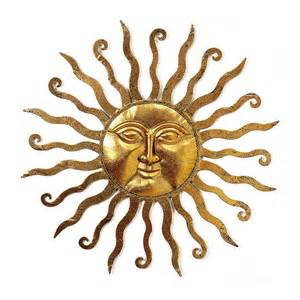 Sun Wall Decor by Sun Wall The Sun Moon And The