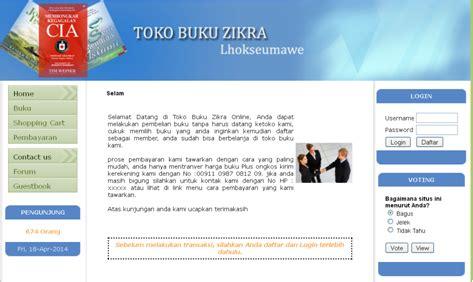 membuat toko buku online dengan php aplikasi toko buku online menggunakan php mysql aplikasi