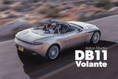 aston martin db volante aston martin db11 volante erste bilder daten preis