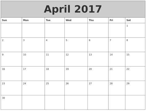 On My Calendar August 2017 Printable Calendars