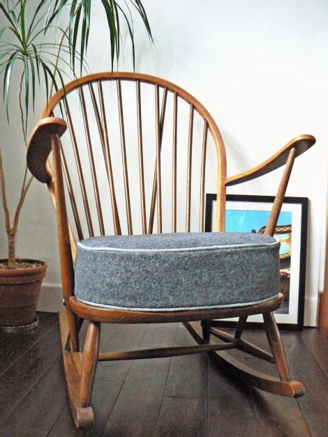 ercol armchair cushions ercol rocking chair retro chairs and rocking chairs on