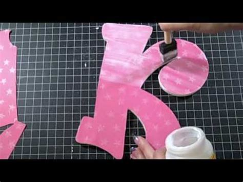 alternating wood letters youtube