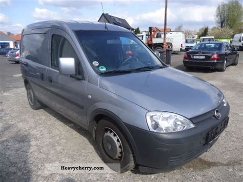 opel combo 2009 opel combo 2009 box type delivery van photo and specs