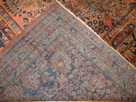 knotted rugs for sale large antique knotted sarouk rug for sale at 1stdibs