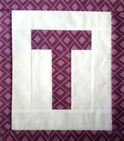 Letter Quilt Pattern Easy As Abc Qal Letter T Blossom Quilts