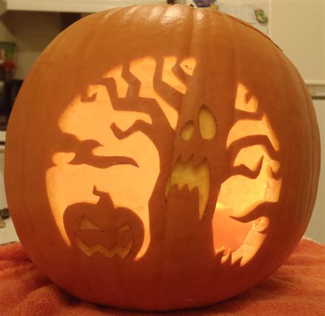 spooky tree pumpkin template 24 spooky pumpkin carving ideas entertainmentmesh