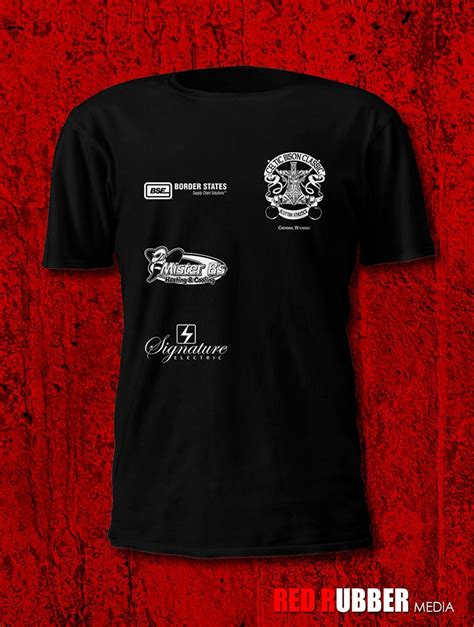 event t shirt design event t shirts design red rubber media