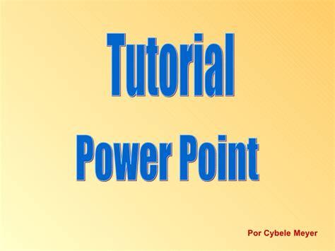 tutorial rapido powerpoint tutorial power point
